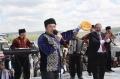 Ведущий праздника Ридван Халилов