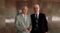 Вице-премьер автономии – министр регионального развития и ЖКХ Крыма Азиз Абдуллаев и Сервер Какура