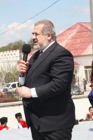 Президент Всемирного конгресса крымских татар, первый заместитель председателя Миллий Меджлиса Рефат Чубаров